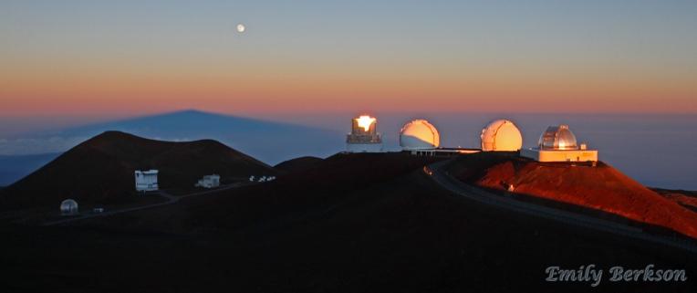 Sunrise on Mauna Kea.