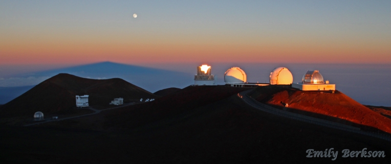 Sunrise on Mauna Kea.