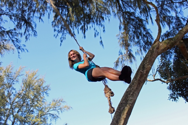 Rope swings!