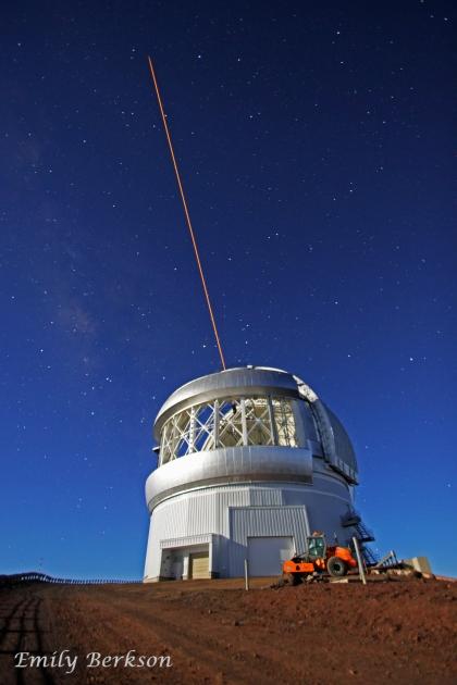 Gemini laser propagation.