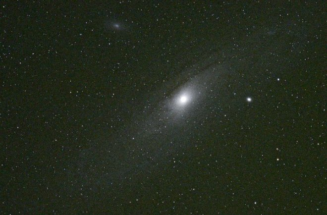 M31, more commonly referred to as the Andromeda Galaxy, the closest similarly-sized neighbor to the Milky Way.