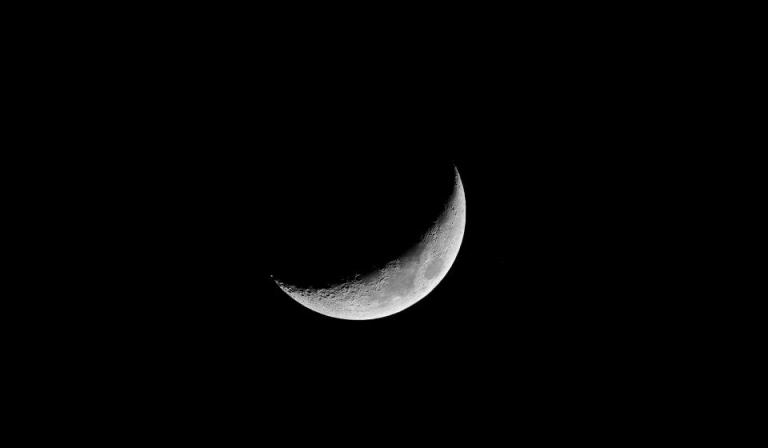 The moon is great for viewing whether it be by the naked eye, with binoculars or through a telescope. Personally, I find this crescent phase most pleasing.