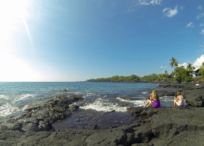 Honaunau (Two-Step) Beach