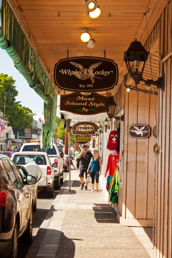 A small selection of Lahaina stores.