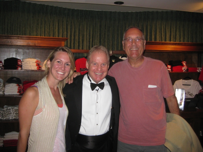 Meeting with Warren after Warren and Annabelle's Magic Show!