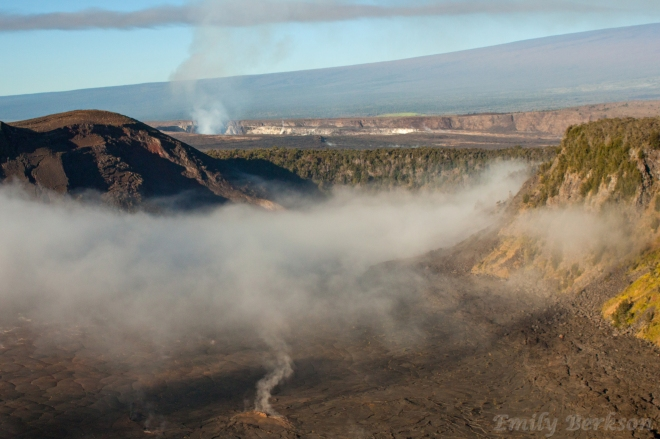 Kilauea Iki in the early morning