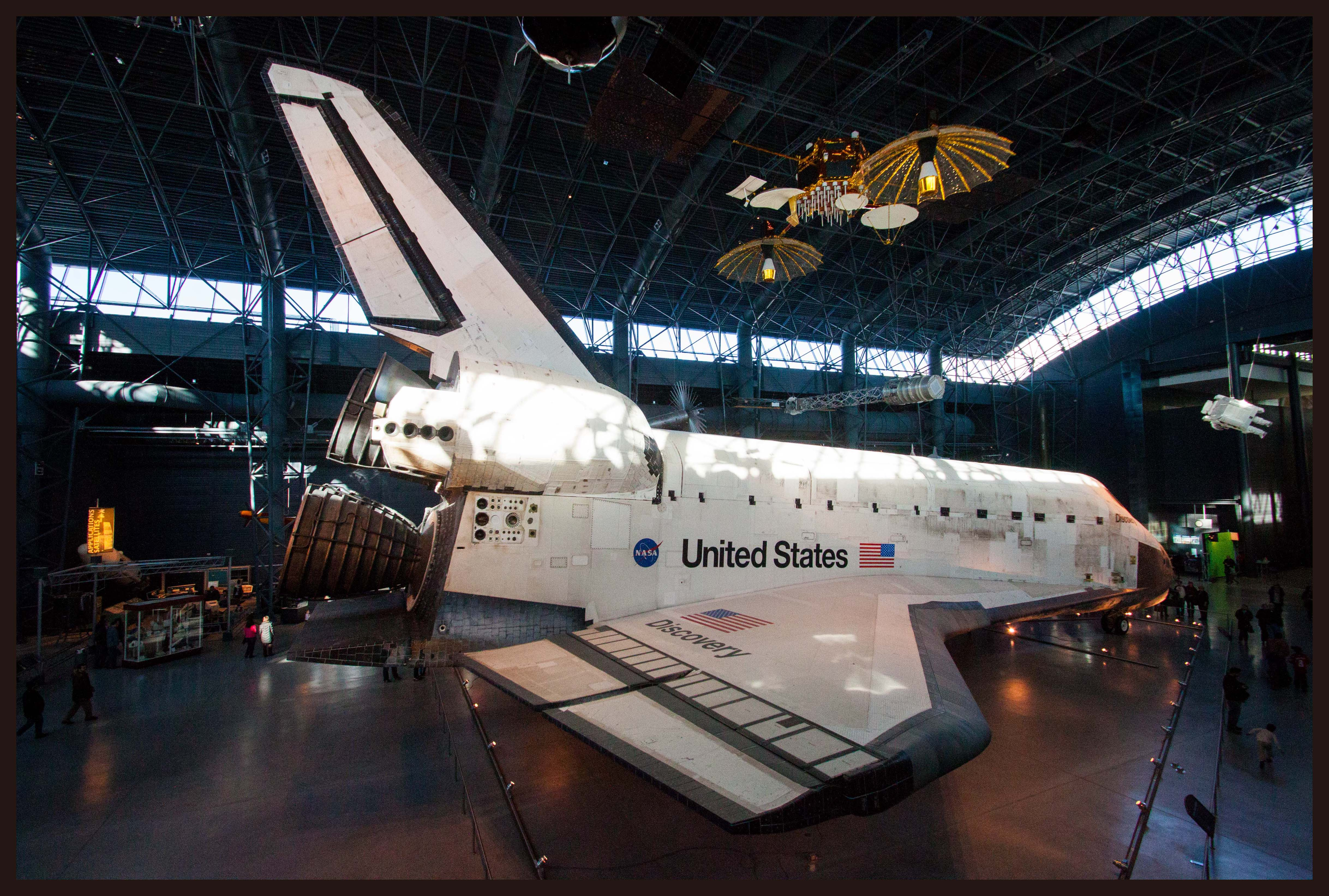 space shuttle discovery hazy - photo #19