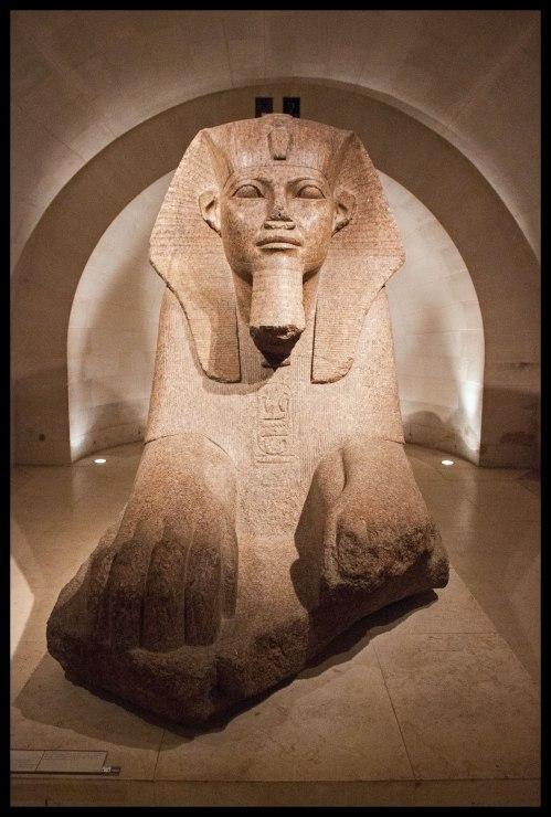 Louvre sphinx.