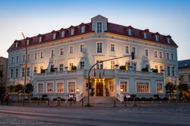 Our hotel, Potsdam Hotel Am Jägertor.