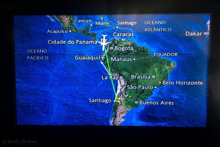 Panama City to Santiago